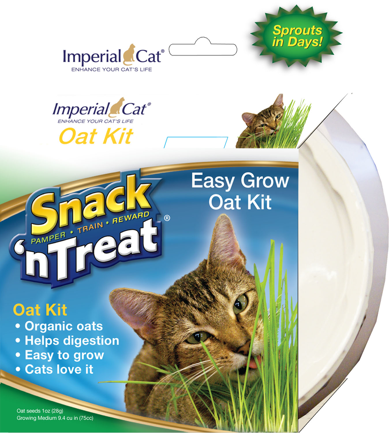 Imperial Cat Organic Oat Glass